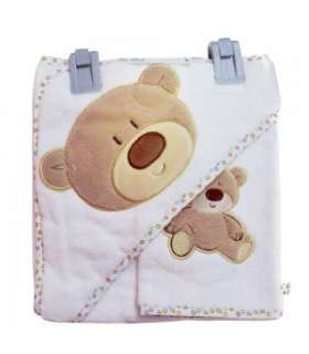 حوله کلاهدار و لیف مادرکر طرح پو Mothercare 1922 Pooh Towel And Mitt