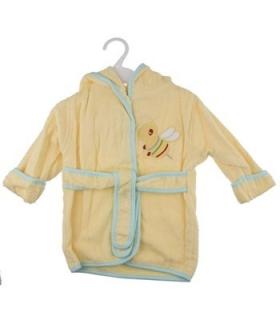 حوله پالتویی کودک طرح زنبور 1152 Bee Overcoat Baby Towel