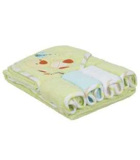 ست حوله کلاه دار کودک کارترز طرح اردک Carters Duck Baby Towel 1149