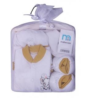 ست لباس نوزادی مادرکر طرح فیل Mothercare 454 Baby Clothes Set
