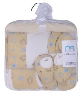 ست لباس نوزادی مادرکر طرح میمون Mothercare 454 Baby Clothes Set