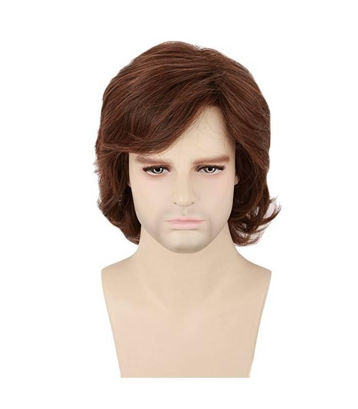 کلاه گیس تاپ کاسپلی مردانه مدل کوتاه و حالت دار Topcosplay Short Layered Wig for men