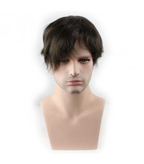 کلاه گیس ساینو آرت مردانه مدل تکه ای وسط سر SinoArt Pure Human Hair Toupee Hairpiece Men s Wig