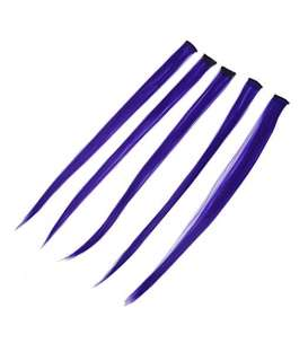 اکستنشن توگو مدل کلیپسی 5 شاخه ای TOOGOO 5 Pcs Straight Clip-on Hair Extensions