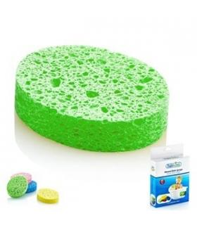 اسفنج حمام کودک ب ب فوکس سایز یزرگ Bebefox 120039 Bath Sponge