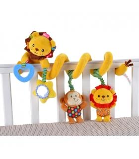 آویز مارپیچ جولی بیبی طرح شیر Jollybaby 963 Lion Hanging Carrier
