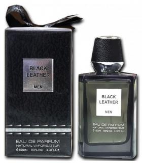 عطر مردانه فراگرنس ورد بلک لدر ادوپرفیوم Fragrance World Black Leather Eau De Parfum For men