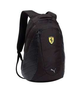 کوله پشتی پوما فراری مشکی Puma Ferrari Backpack Black