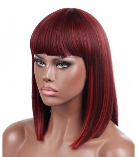 کلاه گیس کالیس زنانه مدل کوتاه لخت و چتری دار Kalyss Synthetic Short Straight Wig For Women