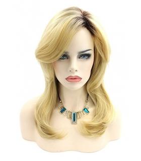 کلاه گیس کالیس زنانه مدل بلند و حالت دار Kalyss Curly Synthetic Hair Wig with bangs