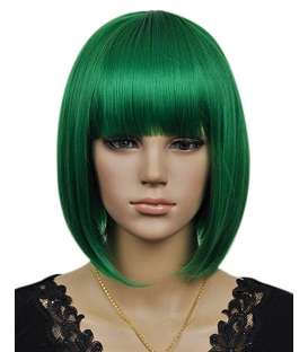 کلاه گیس کالیس زنانه مدل کوتاه لخت و چتری دار Kalyss Kanekalon Synthetic Short Straight Wig