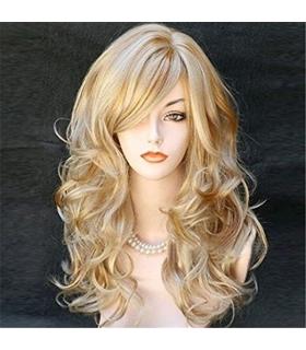 کلاه گیس کالیس زنانه مدل بلند و مجعد فردار Kalyss Long Curly Wavy Synthetic Hair Wig