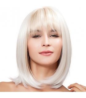 کلاه گیس کالیس زنانه مدل لخت و چتری دار متوسط Kalyss Straight Blonde Heat Resistant Wig