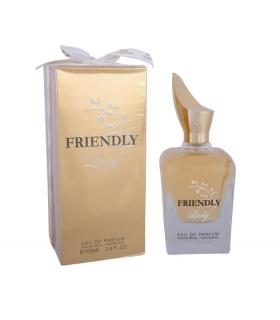 عطر زنانه فراگرنس ورد فرندلی لیدی ادوپرفیوم Fragrance World Friendly Lady Eau De Parfum For Women