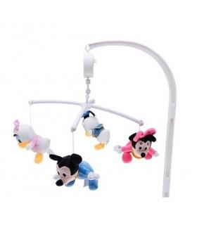 آویز تخت موزیکال میکی و مینی Mickey and Minnie Mouse 1622 Musical Mobile