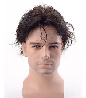 کلاه گیس لرد هیر مردانه مدل تکه ای مخصوص وسط سر Lordhair Toupee Medium Density mens wig