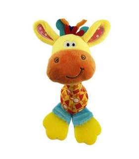جغجغه هپی مانکی طرح زرافه Happy Monkey 1738 Giraffe Rattle