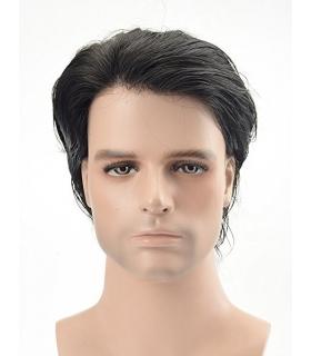 کلاه گیس لرد هیر مردانه مدل تکه ای مخصوص وسط سر Lordhair Toupee Super Thin Mens wig