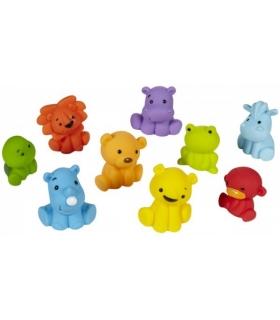 اسباب بازی حمام اینفنتینو 9 عددی طرح حیوانات Infantino 9 Pcs Animals Tub O' Toys