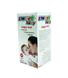 پد سینه سوئیت بیبی بسته 30 عددی Sweet Baby 1697 Breast Pads 30 pcs
