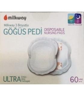 پد سینه میلک وی بسته 60 عددی Milkway 85 Breast Pads 60 pcs