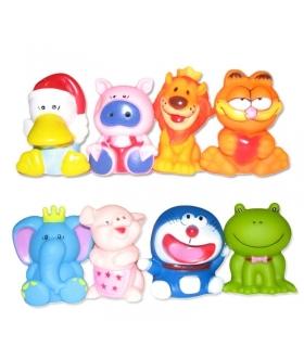 اسباب بازی حمام کنزا 8 عددی طرح حیوانات Kenza 1811 Animals Tub Toys 8 Pcs