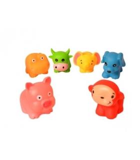 اسباب بازی حمام 6 عددی طرح حیوانات Animals 1382 TubToys 6 Pcs