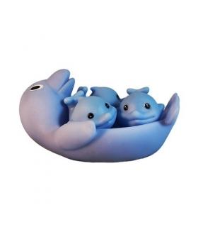اسباب بازی حمام دلفنین 4 عددی 4PCS Dolphins Baby BathToys