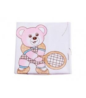 تشک تعویض کوچک طرح خرس ورزشکار Bear Athlete Small Changing Mat