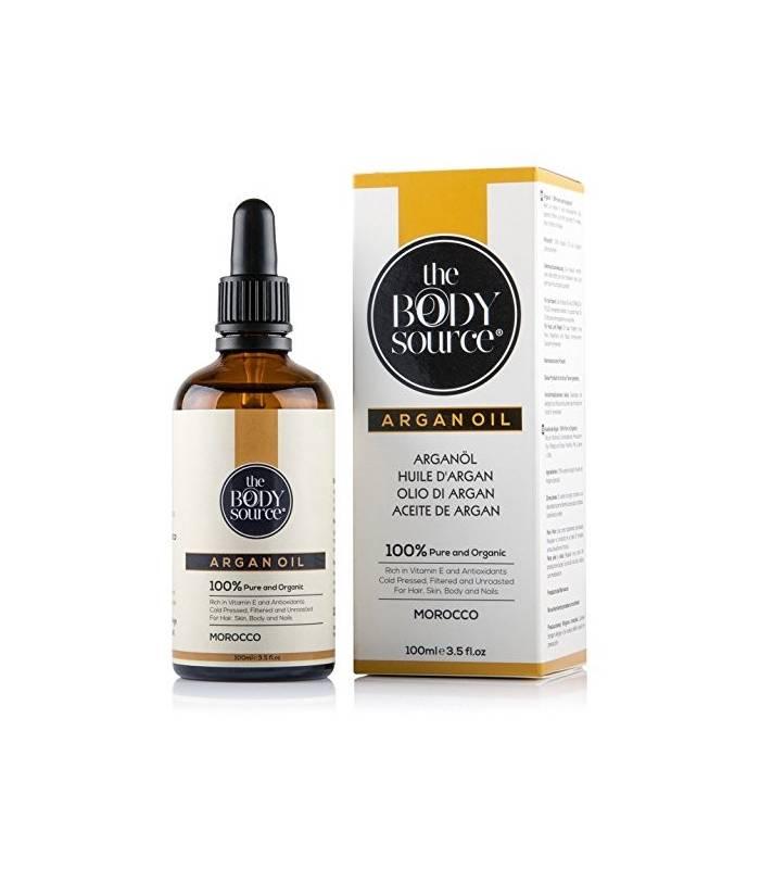 روغن آرگان خالص بادی سورس برای پوست و مو و ناخن The Body Source Hair & Skin & Nail Pure Argan Oil
