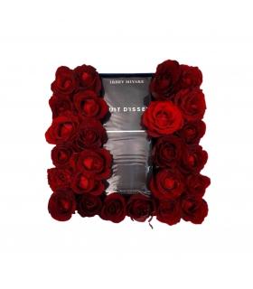 گیفت ست عطر با گل رز قرمز