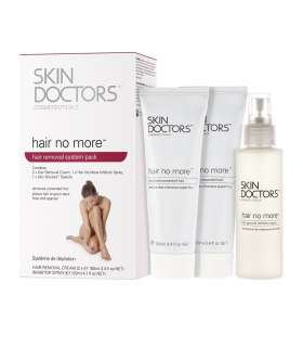 پک حذف کننده دائمی موهای زائد اسکین داکترز هیر نو مور Skin Doctors Hair No More Inhibitor Pack