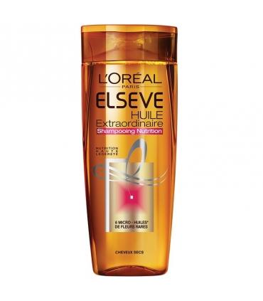 شامپو سر لورآل اکسترا اردینری ایل السو LOreal Elseve Extraordinaire Huile Shampoo