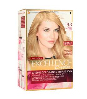 کيت رنگ موي لورآل LOreal Excellence Hair Color Kit No 9.3