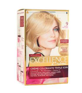 کيت رنگ موي لورآل LOreal Excellence Hair Color Kit No 9