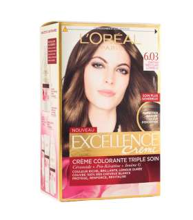 کيت رنگ موي لورآل LOreal Excellence Hair Color Kit No 6.03