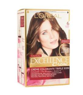 کیت رنگ مو لورآل شماره 6 اکسلنس LOreal Excellence No 6 Hair Color Kit