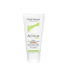 کرم ضد جوش نوروا اکتی پور Noreva Actipur Golden Tinted Anti Acne Cream