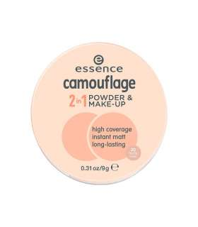 کرم پودر دوکاره اسنس کموفلاژ Essence Camoflage 2 in 1 Powder and Make Up 20