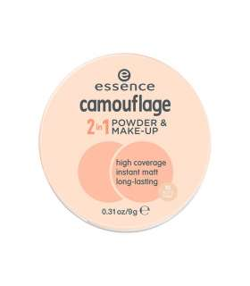 کرم پودر دوکاره اسنس کموفلاژ Essence Camoflage 2 in 1 Powder and Make Up 10