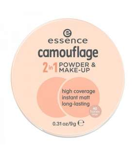 کرم پودر دوکاره اسنس کموفلاژ Essence Camoflage 2 in 1 Powder and Make Up 40