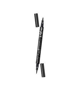 خط چشم ماژیکی اسنس دو در یک Essence 2in1 Eyeliner Pen