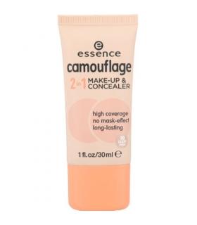 کرم پودر و کانسیلر دوکاره اسنس کموفلاژ Essence Camouflage 2 in 1 Make Up and Concealer 30