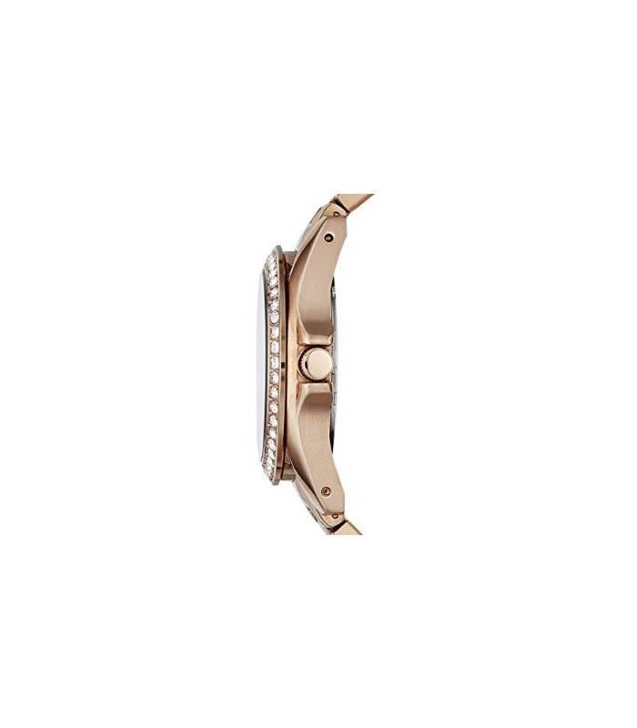 ساعت زنانه رزگلد فسیل 2811 رایلی Fossil Women's ES2811 Riley Rose Gold Watch