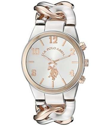 ساعت زنانه یو اس پولو 40176 سیلور رزگلد U.S. Polo Assn. Women's USC40176 Rose Gold Watch