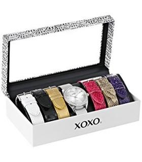 ساعت مچی زنانه ایکس او ایکس او 9062 با 7 بند قابل تعویض XOXO Women's XO9062 Watch with 7 Interchangeable Bands
