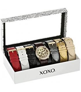 ساعت مچی زنانه ایکس او ایکس او 9066 با 7 بند قابل تعویض XOXO Women's XO9066 Watch with 7 Interchangeable Bands