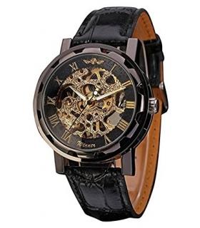 ساعت مچی مردانه وینر مکانیکال الگانت اسکلتون Winner Men's Mechanical Elegant Skeleton Dial Wrist Watch