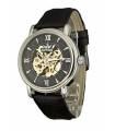 ساعت مچی مردانه سور درس مکانیکال بند چرمی Sewor Men's Dress Mechanical Leather Wrist Watch