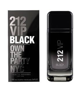 عطر و ادکلن مردانه کارولینا هررا 212 وی آی پی بلک Carolina Herrera 212 VIP Black For Men